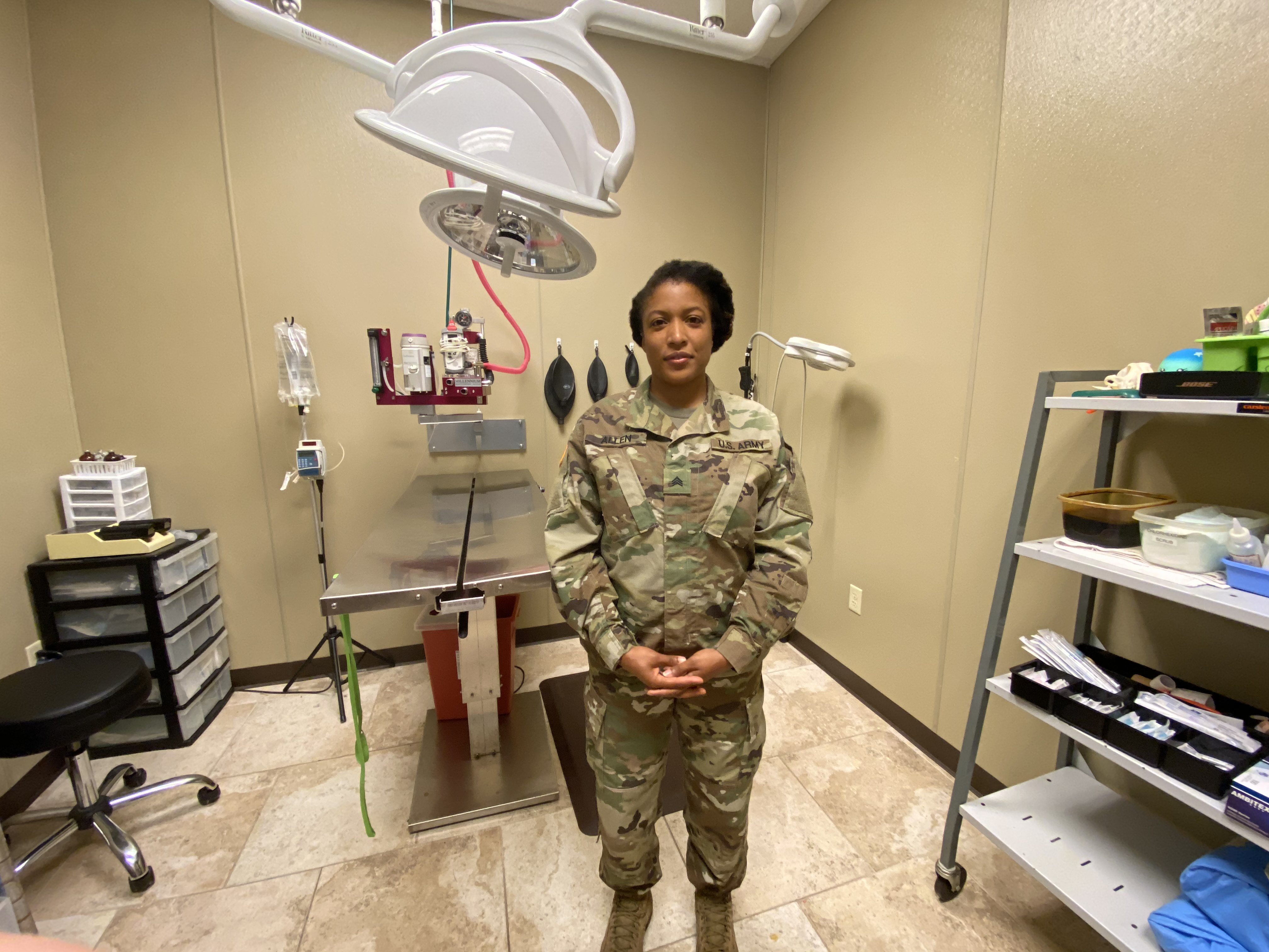Sgt. Priscilla Allen, a former FCNMHP team member, at our