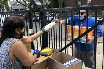 Furlough Brings a First-Time Visit to a Food Pantry